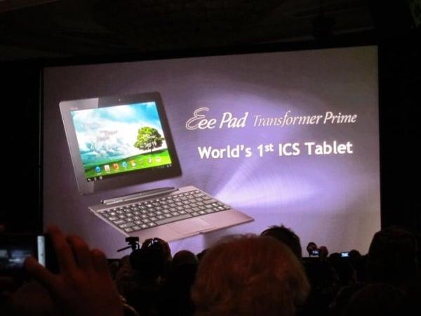 tablet asus transformer prime