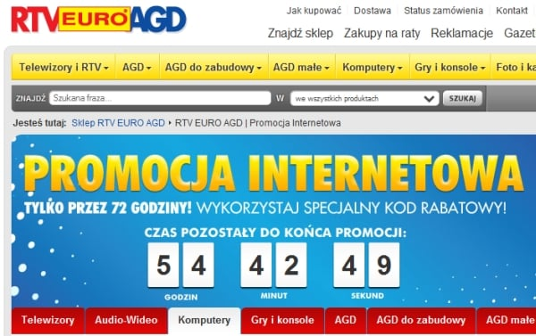 promocja internetowa euro