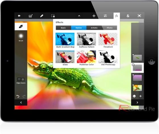 Tabletowo.pl Adobe Photoshop Touch debiutuje w AppStore, lubi tylko iPada 2 (update: wrócił!!) Aplikacje Apple