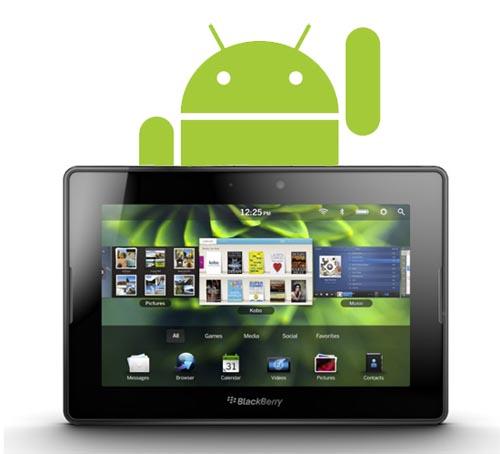 Tabletowo.pl Aplikacje z Androida na PlayBook OS 2.0 bez reklam BlackBerry Ciekawostki