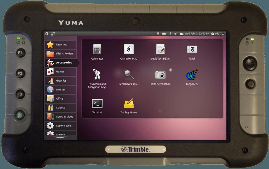 Trimble Yuma Wytrzymały Tablet Z Linuksem Na Pokładzie