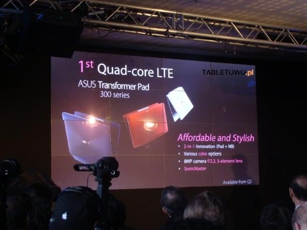 tablet asus transformer pad 300