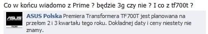 Tabletowo.pl Na Asusa Eee Pad Transformer Prime TF700T w Polsce trochę poczekamy... Asus Nowości