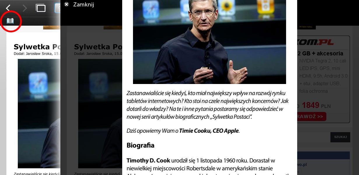 Tabletowo.pl Recenzja systemu BlackBerry Playbook OS 2.0 BlackBerry Nowości Recenzje