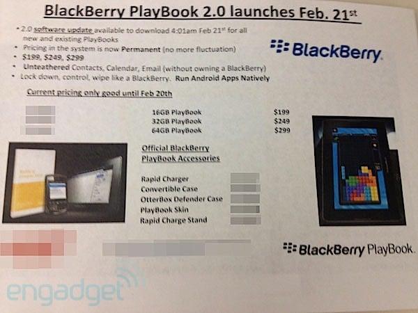 Tabletowo.pl To pewne: BlackBerry Playbook OS 2.0 zadebiutuje 21 lutego BlackBerry Nowości Plotki / Przecieki