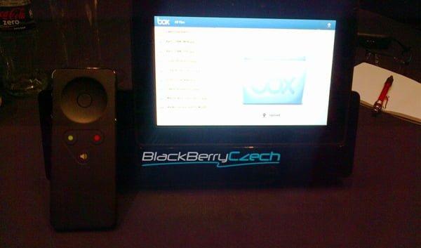 """Tabletowo.pl """"Ściśle tajna"""" stacja dokująca dla BlackBerry Playbooka Akcesoria Nowości Plotki / Przecieki"""