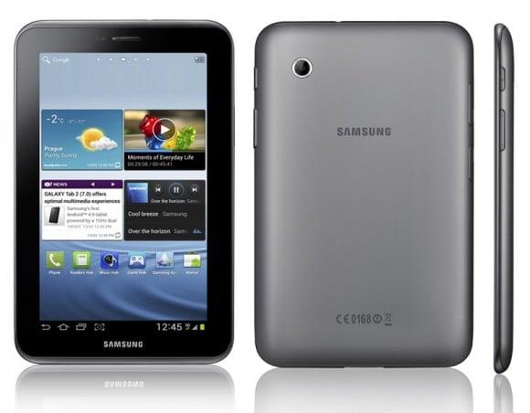 Tabletowo.pl Samsung Galaxy Tab 2: 7'' i Ice Cream Sandwich (update) Nowości Samsung