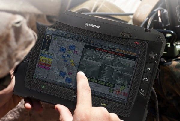 Tabletowo.pl Harris RF-3590 - kolejny tablet dla wojskowych Ciekawostki Nowości