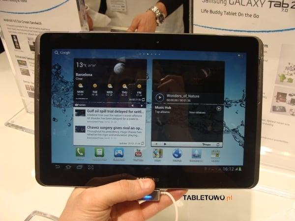 Tabletowo.pl Samsungowe nowości z MWC 2012: Galaxy Tab 2 7.0 i Galaxy Tab 2 10.1 - zdjęcia, wideo Nowości Samsung