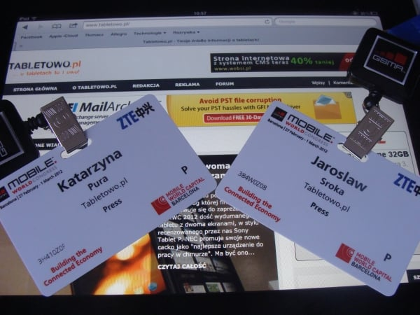 tabletowo.pl na mwc 2012