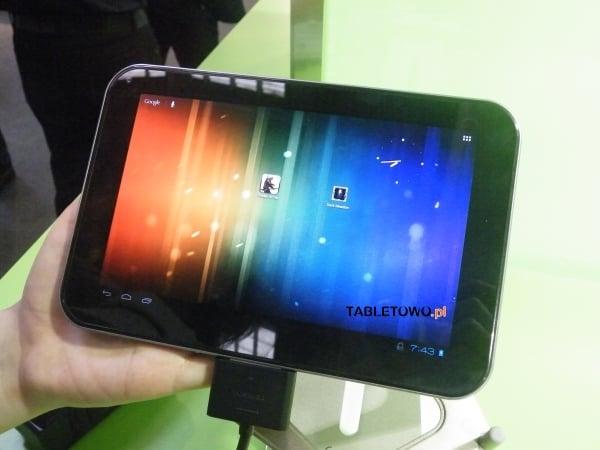 """Tabletowo.pl Prototypowa Toshiba AT270 z ekranem 7,7"""" i Tegrą 3 - miłe zaskoczenie (update: wideo) Nowości Toshiba"""