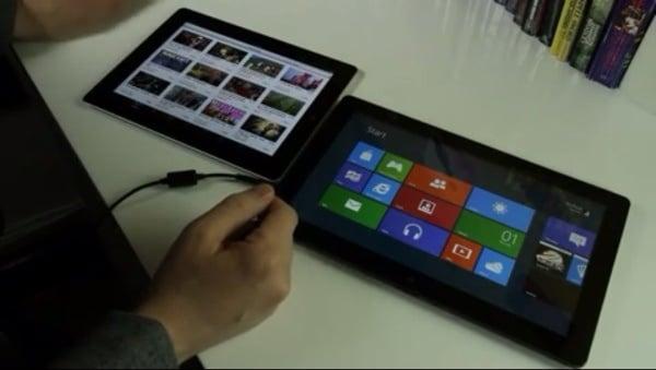 Tabletowo.pl Walka wieczoru: Apple iOS vs Windows 8 (wideo) Apple Nowości Porównania