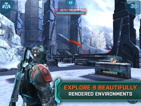 Mass Effect Infiltrator iOS