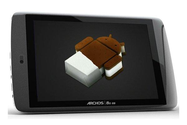 Tabletowo.pl Android 4.0 ICS dla tabletów Archos G9 już dostępny Nowości