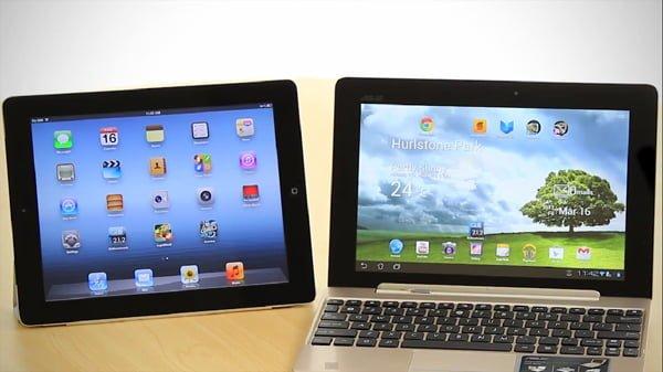 Tabletowo.pl Walka dnia: Nowy iPad vs Asus Transformer Prime (wideo) Apple Asus Nowości Porównania