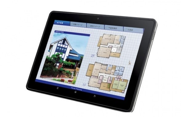 tablet sharp rw t110