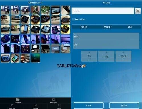 Tabletowo.pl Test aplikacji WD 2go i WD Photos z dyskiem My Book Live Aplikacje Nowości