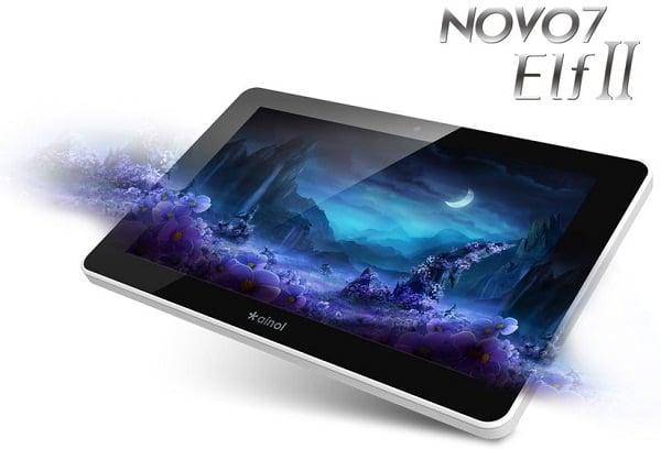 Tabletowo.pl Nowe tablety Ainol z serii Novo 7: Elf II, Mars i Tornado Chińskie Nowości