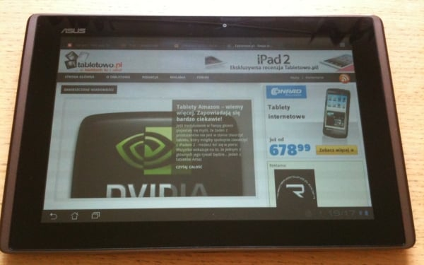 tablet asus eee pad transformer