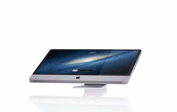 Tabletowo.pl Jak mógłby wyglądać Apple iMac z ekranem dotykowym? (wideo) Apple Ciekawostki Koncepcje Nowości