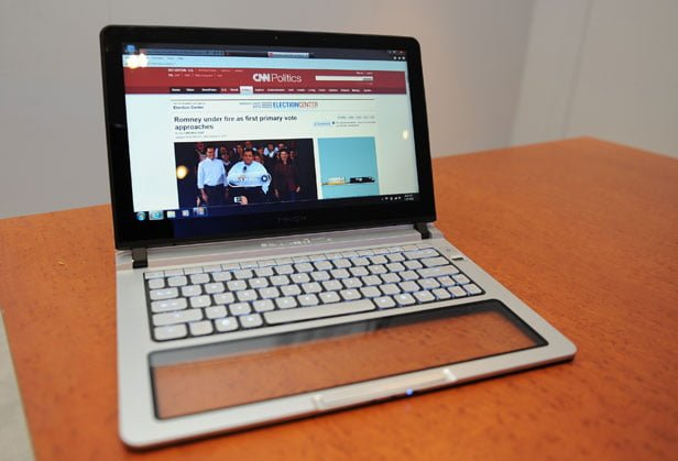 Tabletowo.pl IDF 2012: Intel prezentuje prototypy hybrydowych komputerów z Windows 8 Hybrydy Nowości