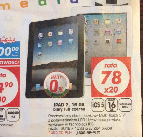 """Tabletowo.pl iPad 2 z ekranem Retina wyglądający jak """"jedynka""""... Takie rzeczy tylko w Auchan Apple Ciekawostki Nowości"""