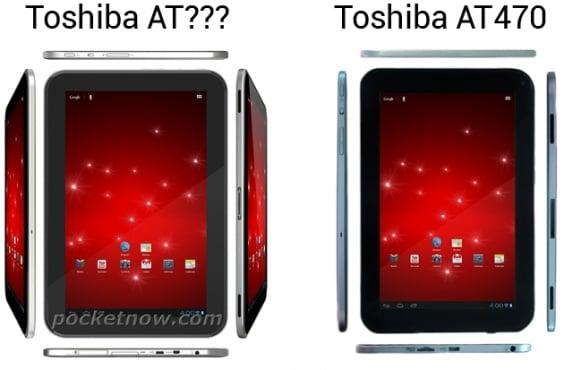 google nexus tablet vs toshiba at470