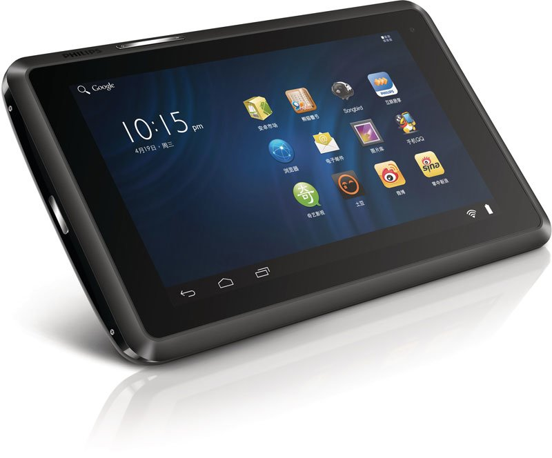 Philips Entertainment Tablet PI3800 oficjalnie: MIPS i Android 4 27