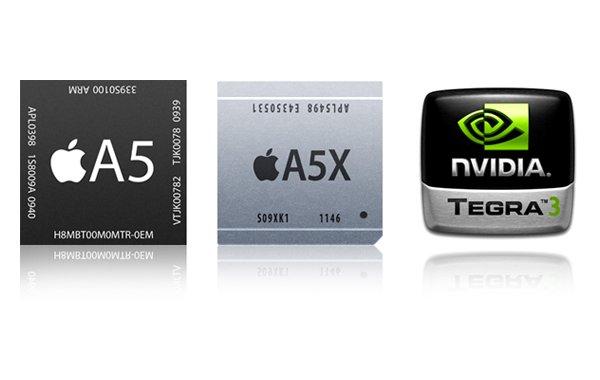 Apple A5X vs Apple A5 vs Nvidia Tegra 3. Który procesor jest najmocniejszy? 19