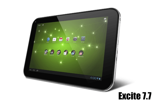 tablet toshiba excite 7.7