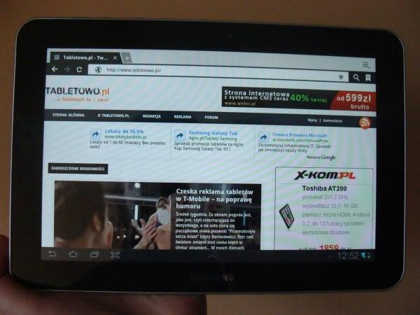 Tabletowo.pl Samsung aktualizuje Galaxy Tab 8.9 LTE z Plusa Nowości Samsung