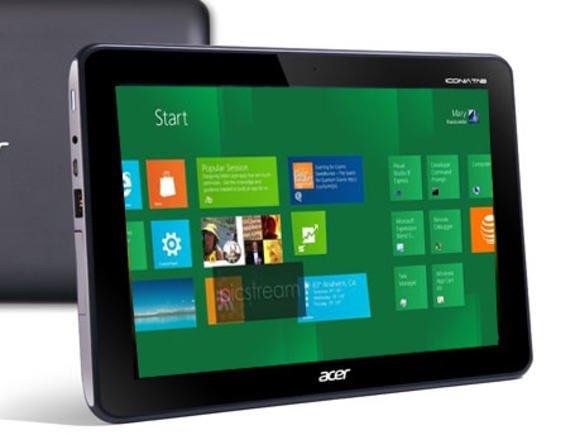 Tabletowo.pl Pierwsze tablety Acera z Windows 8 na Computex 2012 Acer Nowości Plotki / Przecieki