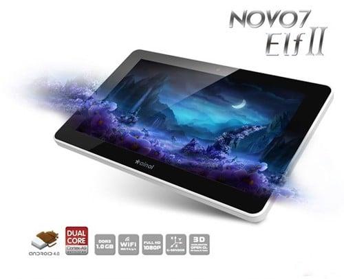 Tabletowo.pl Ainol prezentuje: Novo 7 Aurora II i Novo 7 Elf II Chińskie Nowości