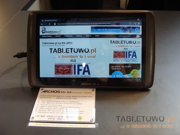 Tabletowo.pl Archos naprawia błędy w tabletach G9 - aktualizacja już dostępna Nowości
