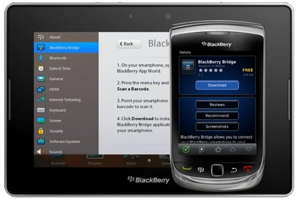 Tabletowo.pl Usługa BlackBerry Bridge wkrótce z synchronizacją Wi-Fi BlackBerry Nowości