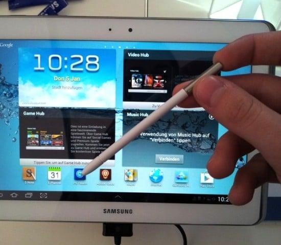 Tabletowo.pl Samsung Galaxy Note 10.1 z czterordzeniowym Exynos i otworem na S Pen Nowości Samsung