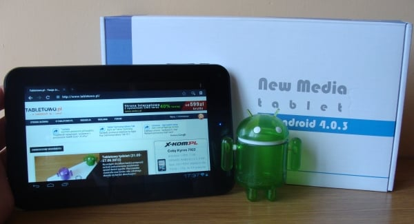 new media tablet 7""
