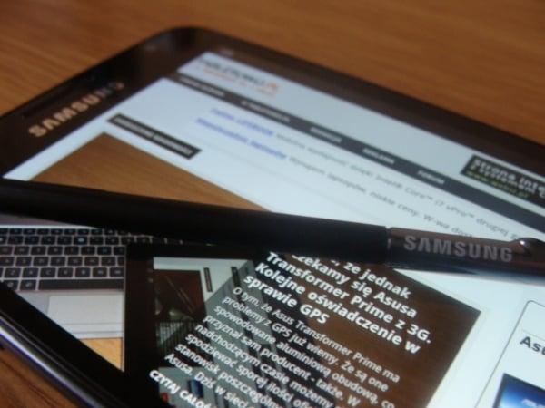 Tabletowo.pl Android 4.0 dla Samsunga Galaxy Note wreszcie w Polsce Nowości Samsung
