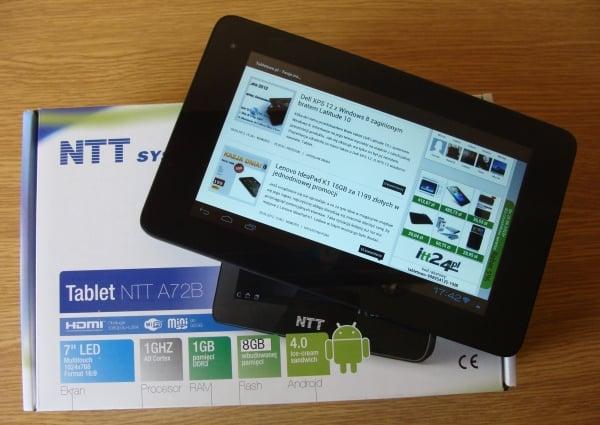 Tabletowo.pl Tablet NTT A72B w rękach Tabletowo.pl Nowości