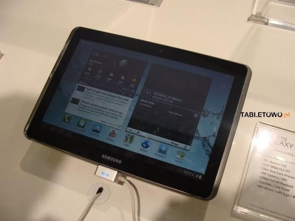 Tabletowo.pl Samsung Galaxy Tab 2 10.1 debiutuje w USA Nowości Samsung