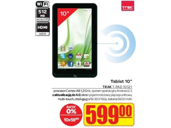"""Tabletowo.pl Trak tPad 10121 z ekranem 10,1"""" za 599 złotych Nowości"""