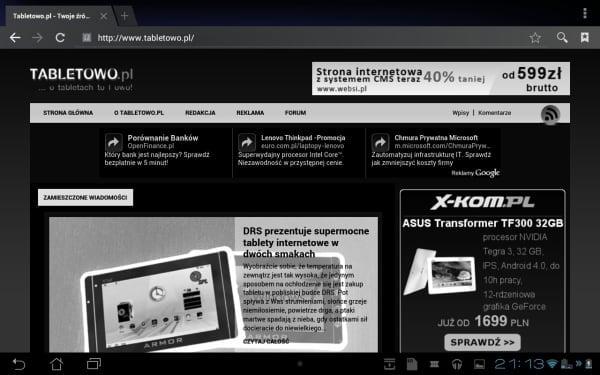 Tabletowo.pl Recenzja tabletu Asus Transformer Pad 300 i porównanie do Asusa Transformer Prime (wideo) Asus Nowości Porównania Recenzje