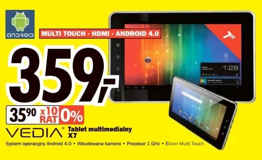 tablet vedia x7