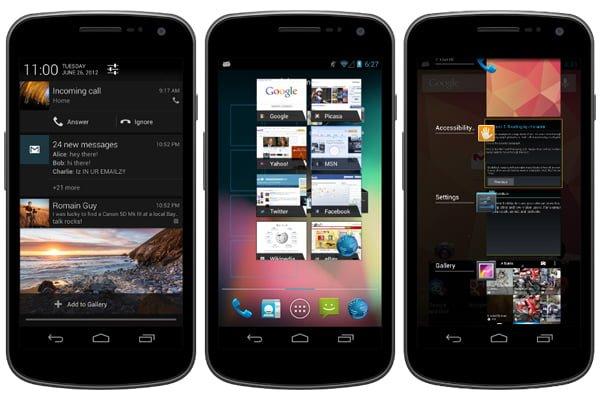 Tabletowo.pl Android 4.1 Jelly Bean - co nowego? Nowości