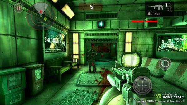 Dead Trigger tegra 3