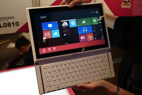 Tabletowo.pl MSI Slider S20 - hybryda z Windows 8 i wysuwaną klawiaturą Nowości