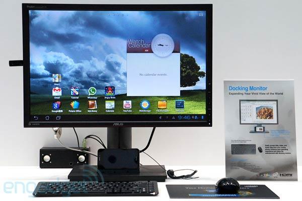 Tabletowo.pl Asus prezentuje stację audio dla Transformerów i monitor dla Padfone'a Akcesoria Asus Nowości