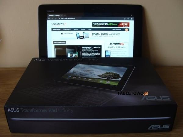 Recenzja tabletu Asus Transformer Pad Infinity 700