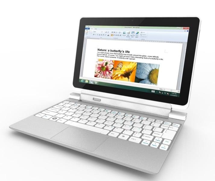 Tabletowo.pl Acer Iconia W510 – 10,1-calowa hybryda z Windows 8 za 599-799 dolarów (wideo) Acer Hybrydy Nowości