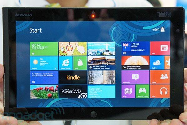 Tabletowo.pl Oto tablet Lenovo ThinkPad z systemem Windows 8 Nowości
